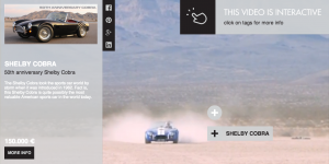 interactive video from clickable video