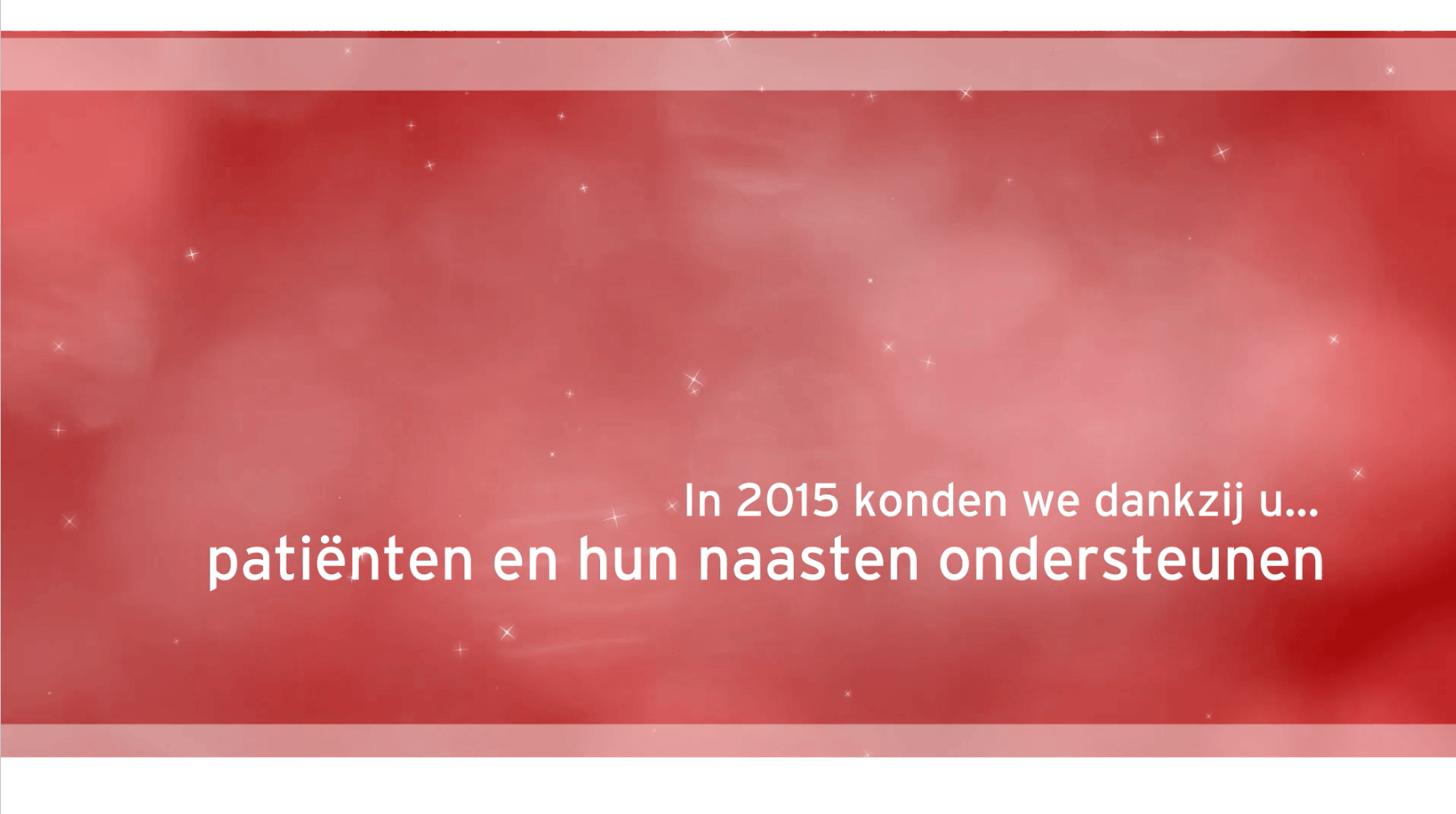 eindejaarsvideo 2015 stichting tegen kanker