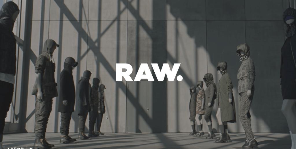 fullscreen video website raw