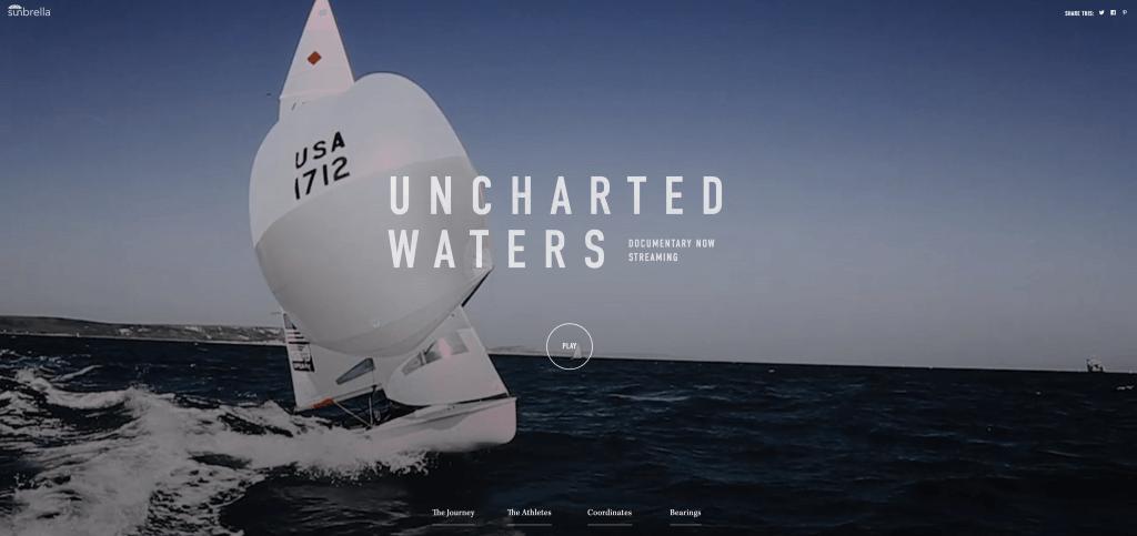 fullscreen video website uncharted waters