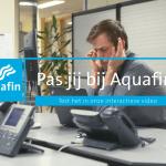 pas jij bij Aquafin? Test het in deze interactieve video